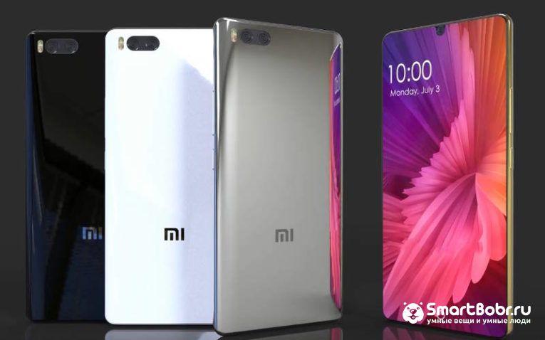 Xiaomi Mi7 смартфоны 2018 года новинки