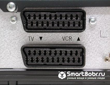 как подключи телевизор Samsung SCART