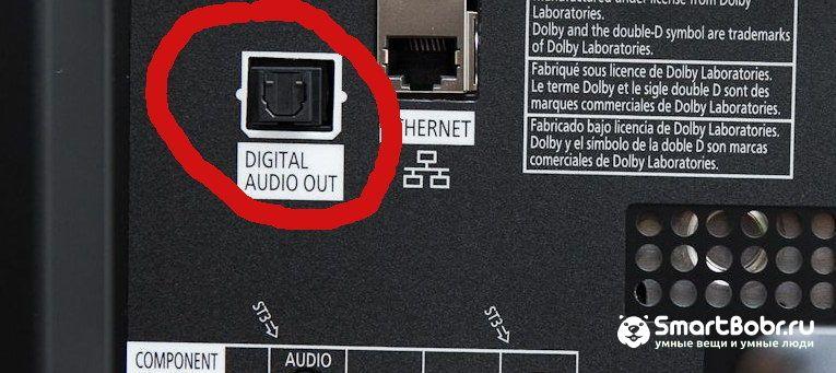 как подключи телевизор Samsung коаксильный