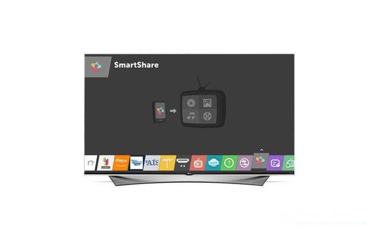 как подключить ноутбук к телевизору SmartShare
