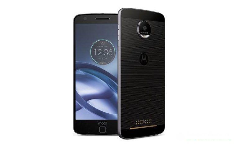 Moto Z 32GB Dual смартфон с металлическим корпусом