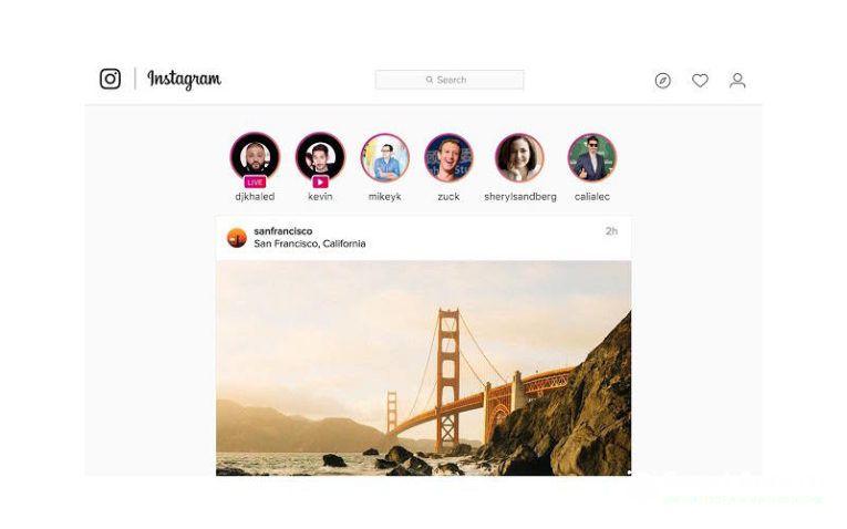 добавить фото в Инстаграм с компьютера