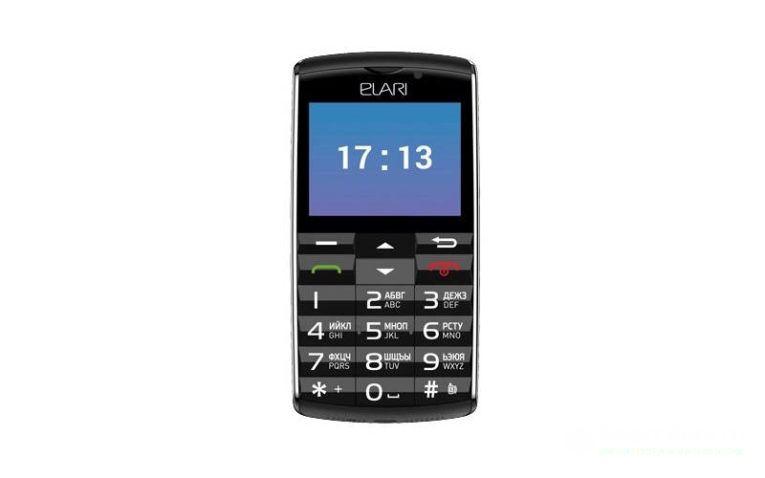 кнопочный мобильный телефон Elari SafePhone