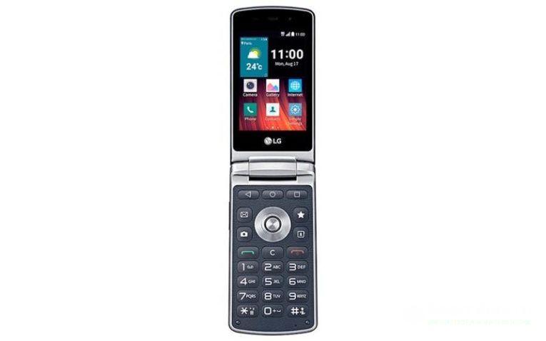 кнопочный смартфон LG Wine Smart 2