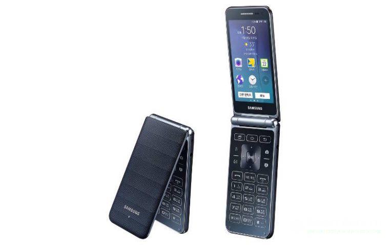 кнопочный смартфон Samsung Galaxy Folder 2