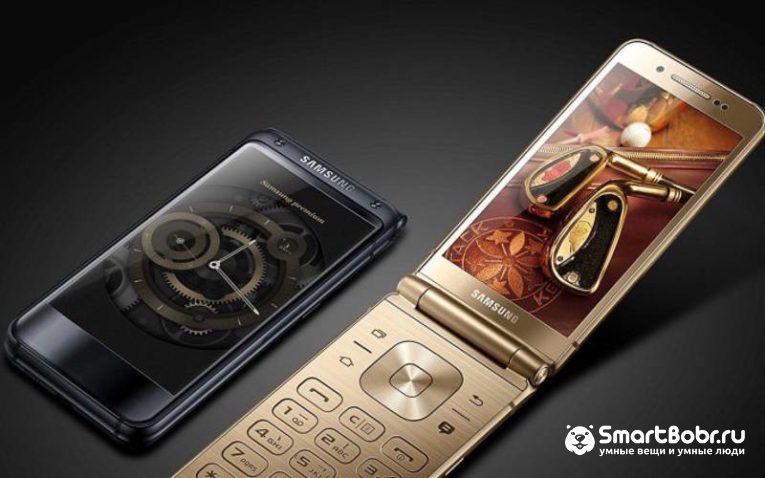 кнопочный смартфон Samsung SM-W2018