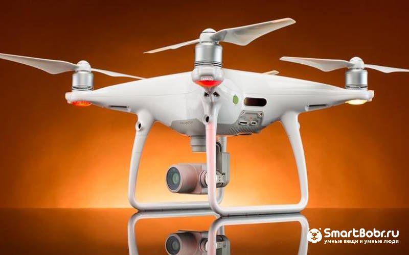 квадрокоптер с камерой DJI Phantom 4 PRO