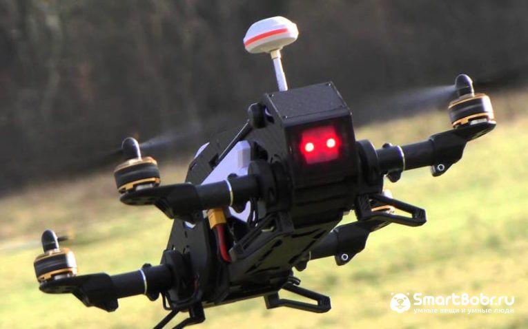 квадрокоптер с камерой Walkera Furious 320