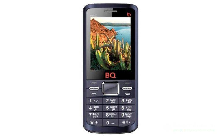 смартфон на 3 сим-карты BQ BQM-2408 Mexico