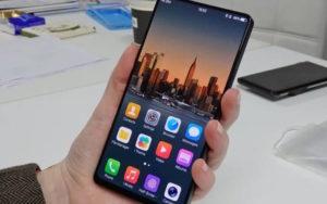 безрамочные смартфоны Vivo Apex