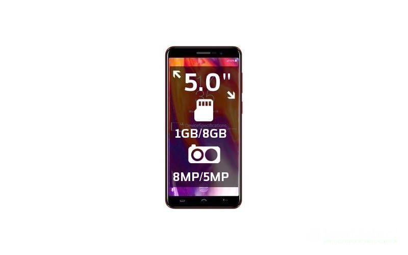 бюджетный смартфон до 5000 рублей HomTom S12