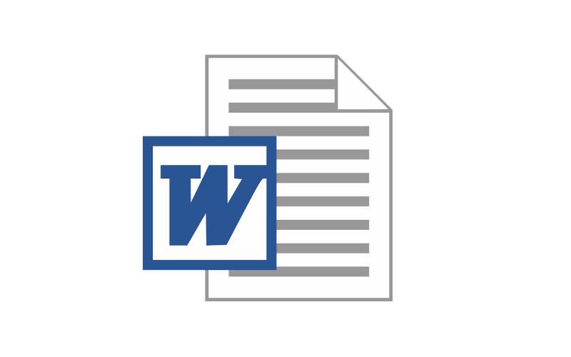 форматы текстовых файлов DOC
