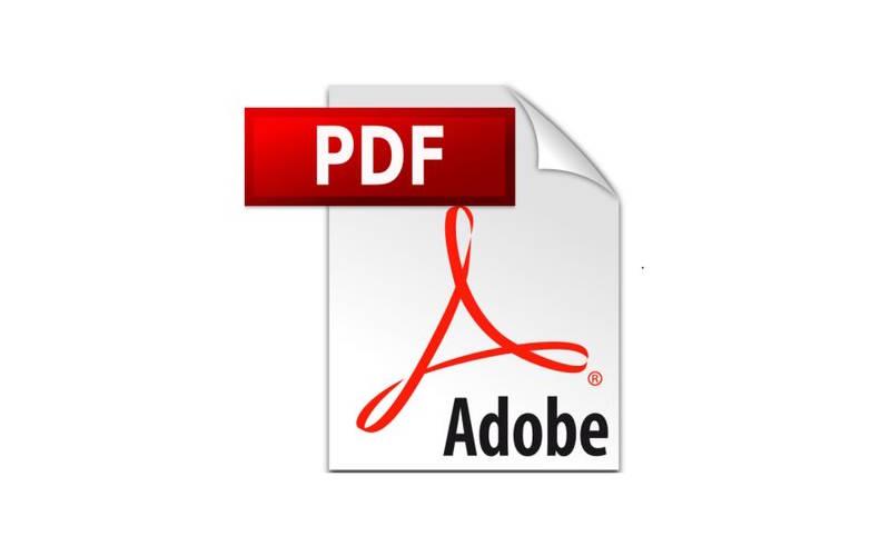 форматы текстовых файлов PDF