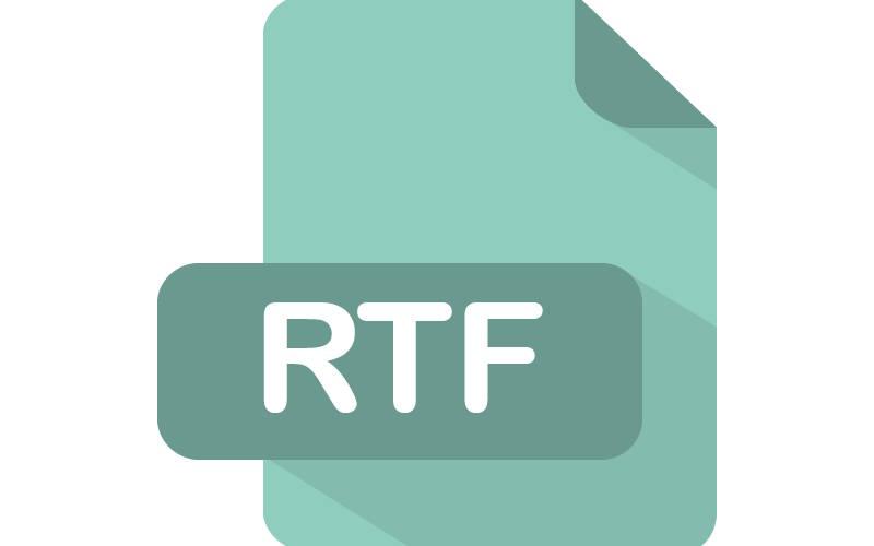 форматы текстовых файлов RTF