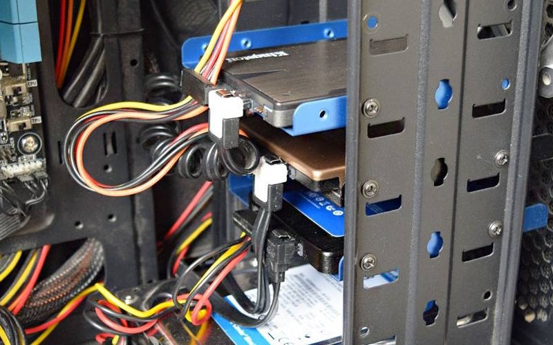 как подключить жесткий диск ноутбука к компьютеру