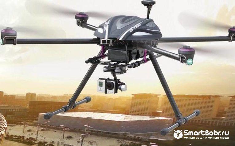 квадрокоптеры с большой дальностью полета Walkera X800