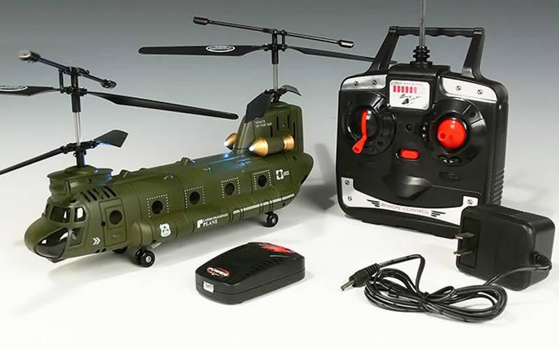 вертолет на радиоуправлении Syma Chinook CH-47 (S022)