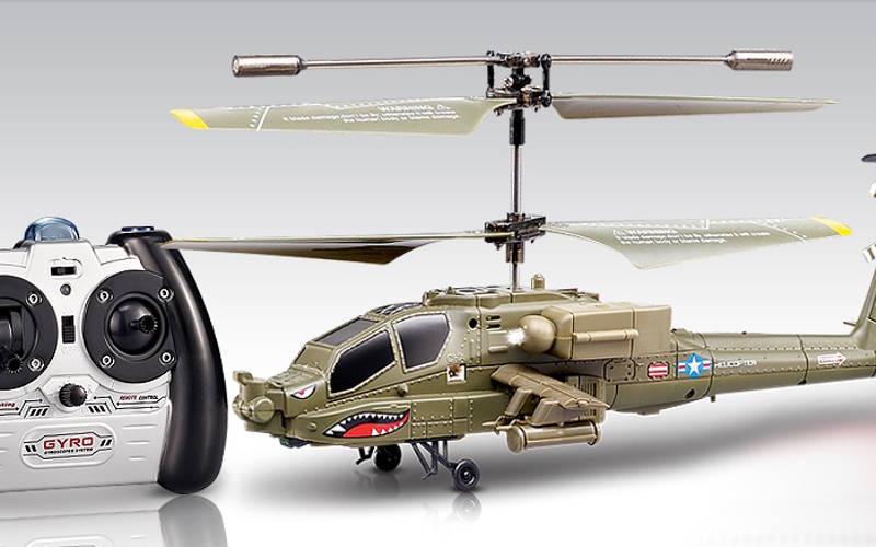 вертолет на радиоуправлении Syma S109G Apache AH-64