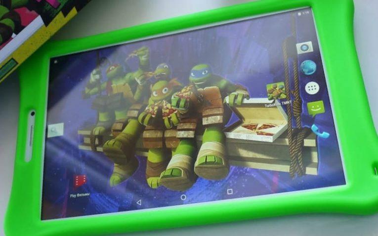 детские планшеты TurboKids Черепашки-ниндзя 3G для ребенка