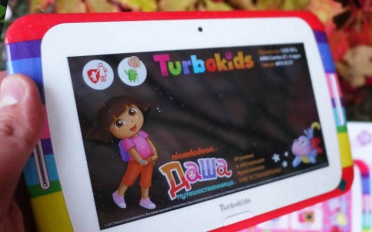 детские планшеты TurboKids Даша-путешественница
