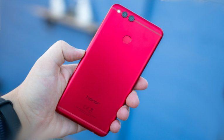 Honor 7X красные смартфоны