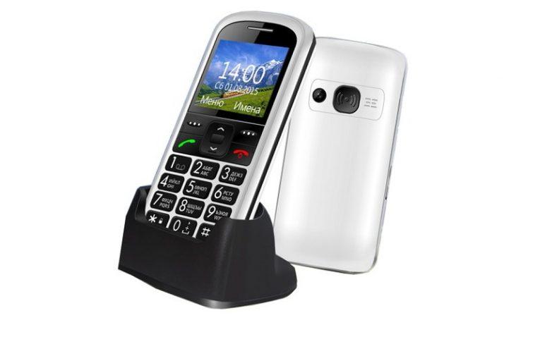 лучшие телефоны для пенсионеров Ginzzu R12D