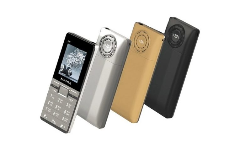 лучшие телефоны для пенсионеров MAXVI P11