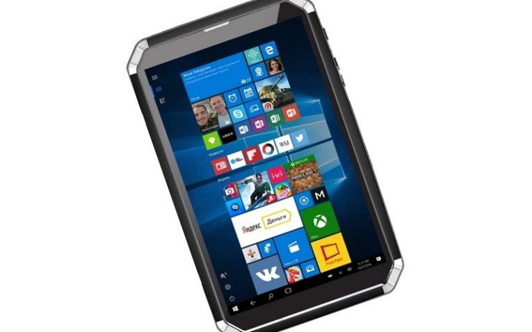 защищенный планшет Panasonic DEXP Ursus GX280