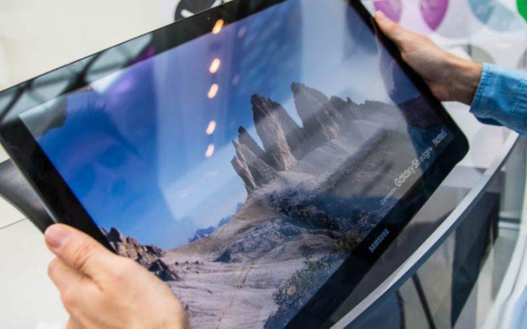 Samsung Galaxy View с диагональю 12 дюймов
