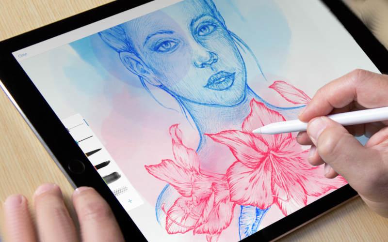 как рисовать на андроид с помощью Adobe Photoshop Sketch