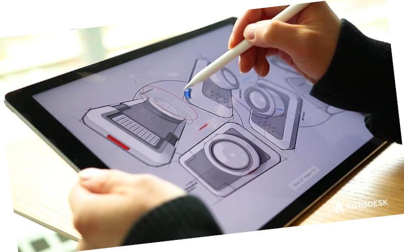 как рисовать на андроид с помощью Autodesk SketchBook