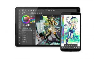 как рисовать на андроид с помощью MadiBang Paint
