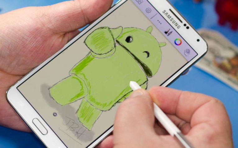 как рисовать на андроид с помощью SketchBook for Galaxy