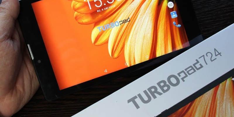 планшеты 3g TurboPad 724