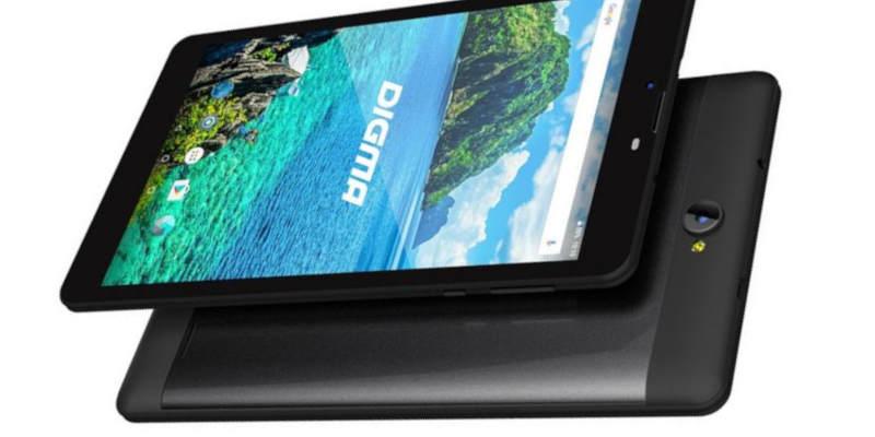 планшеты 7 дюймов Digma Plane 7557 4G