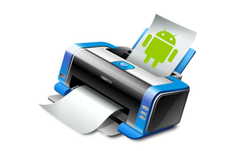 как подключить принтер через телефон