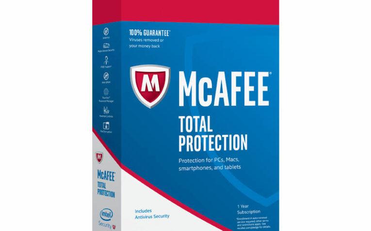 лучший антивирус для Windows 7, 8 и 10 McAfee Total Protection