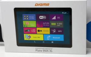 планшет Digma Plane 9505