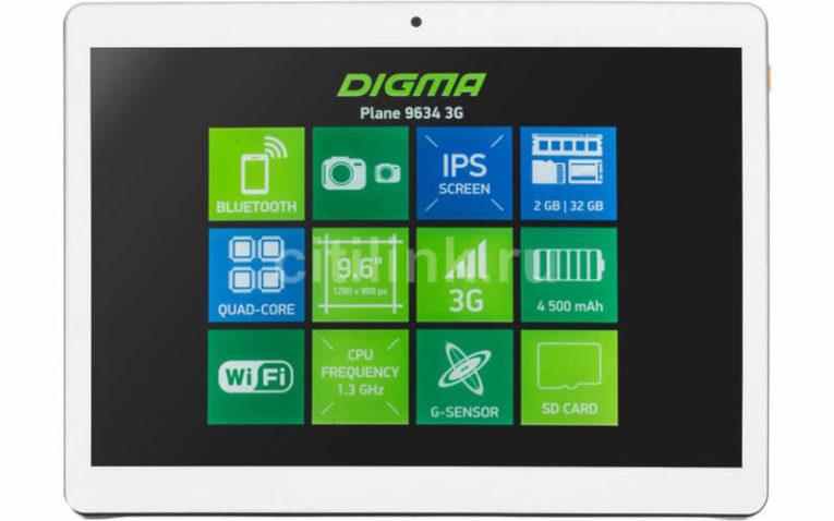 планшет Digma Plane 9634