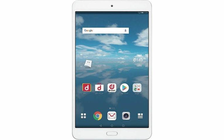 планшет Huawei dtab Compact d-02K