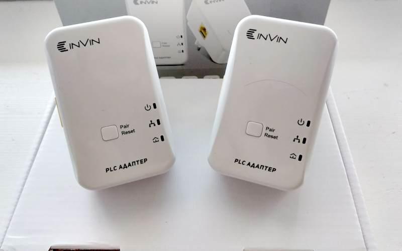 Powerline Адаптеры INVIN L2