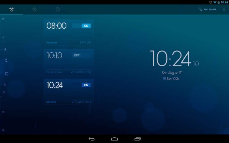 будильник на андроид