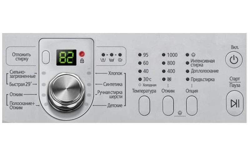 функции стиральных машин