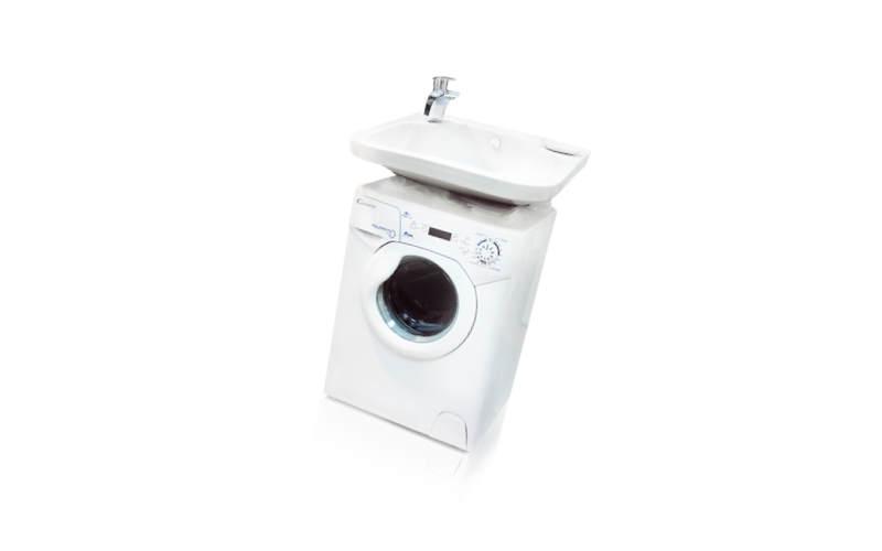 стиральная машина с раковиной Candy Aqua 100F + Кувшинка-Виктория