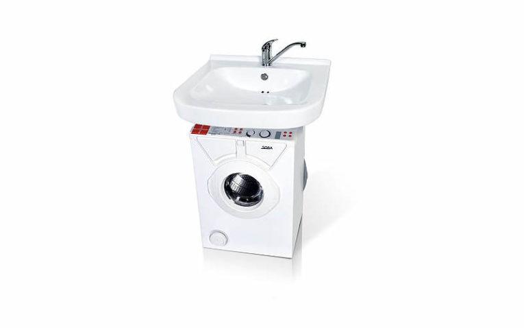 стиральная машина с раковиной Eurosoba 600 Кувшинка-Люкс лайт