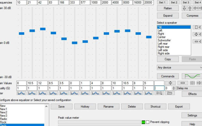 эквалайзер для windows Equalizer APO