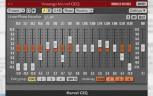 эквалайзер для windows Voxengo Marvel GEQ