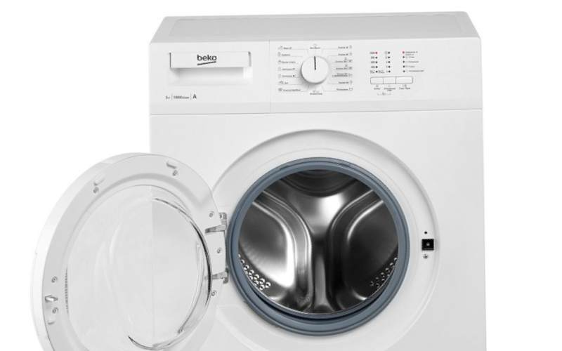 недорогие стиральные машины BEKO WRE 55P1 BWW