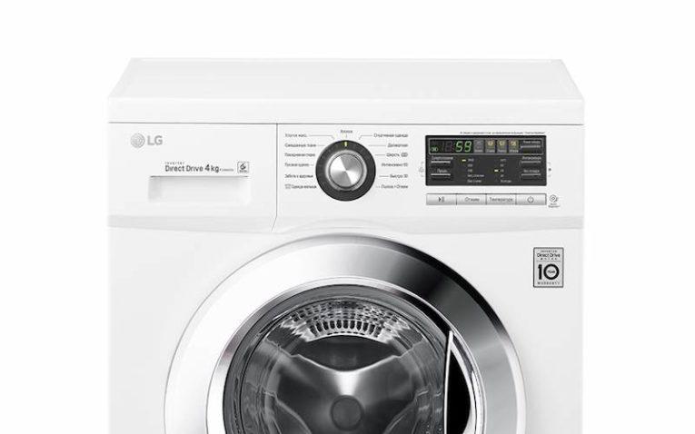 узкая стиральная машина LG F-1096SD3