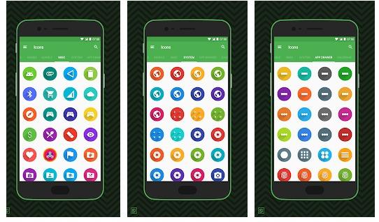 Приложения в Google Play– Rondo Flat Style Icon Pack